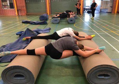 Splits training