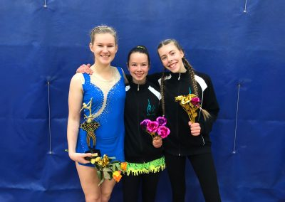 Mara, Tash and Maddie from the Invitational
